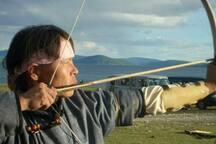 Tiro con L'arco in mongolia