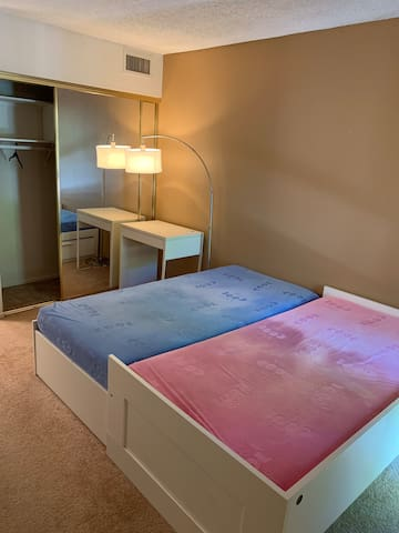Bedroom private with own bathroom