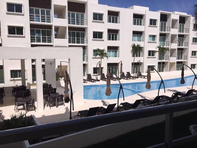 Confortable y nuevo departamento en Cancun