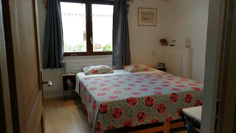 Chambre avec cuisine et salle de bains privées