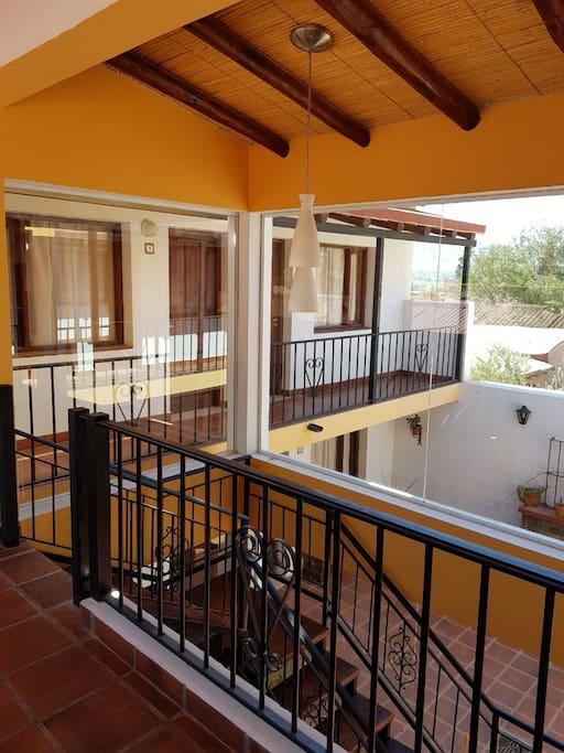 Planta Alta Habitaciones con Balcon Vista a los Cerros