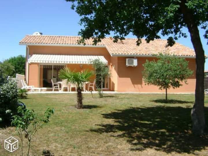 Spacieuse villa à Soulac classée 2*
