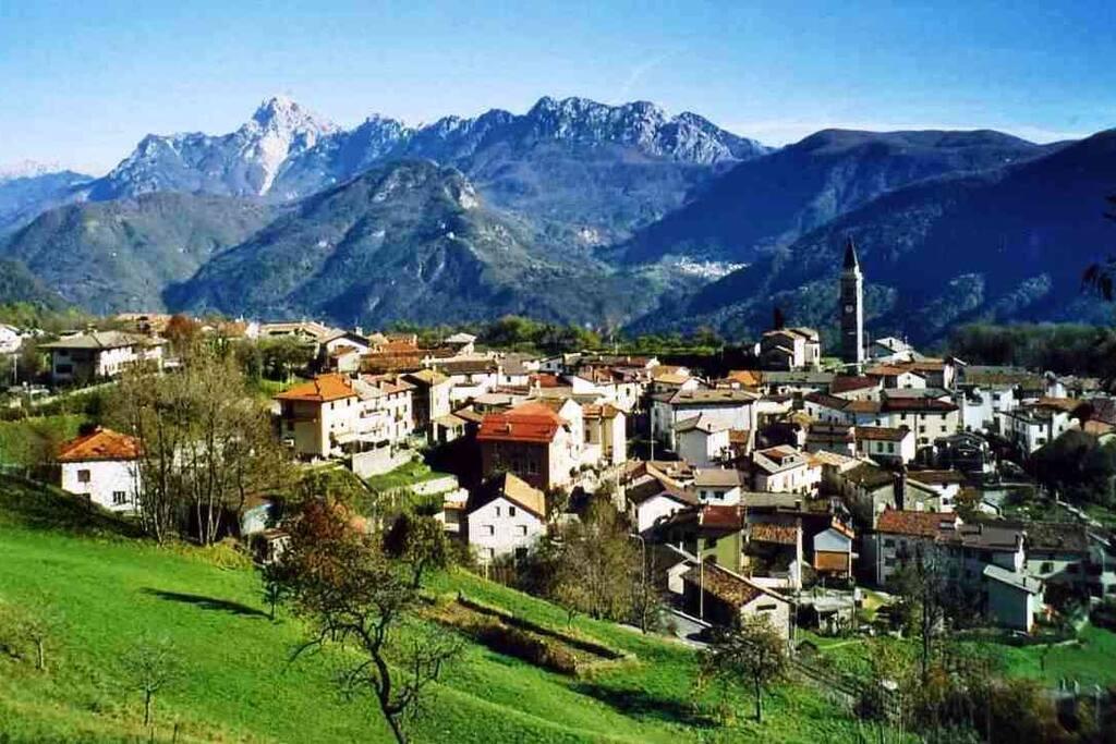 Typique village de montagne à 696m d'altitude !