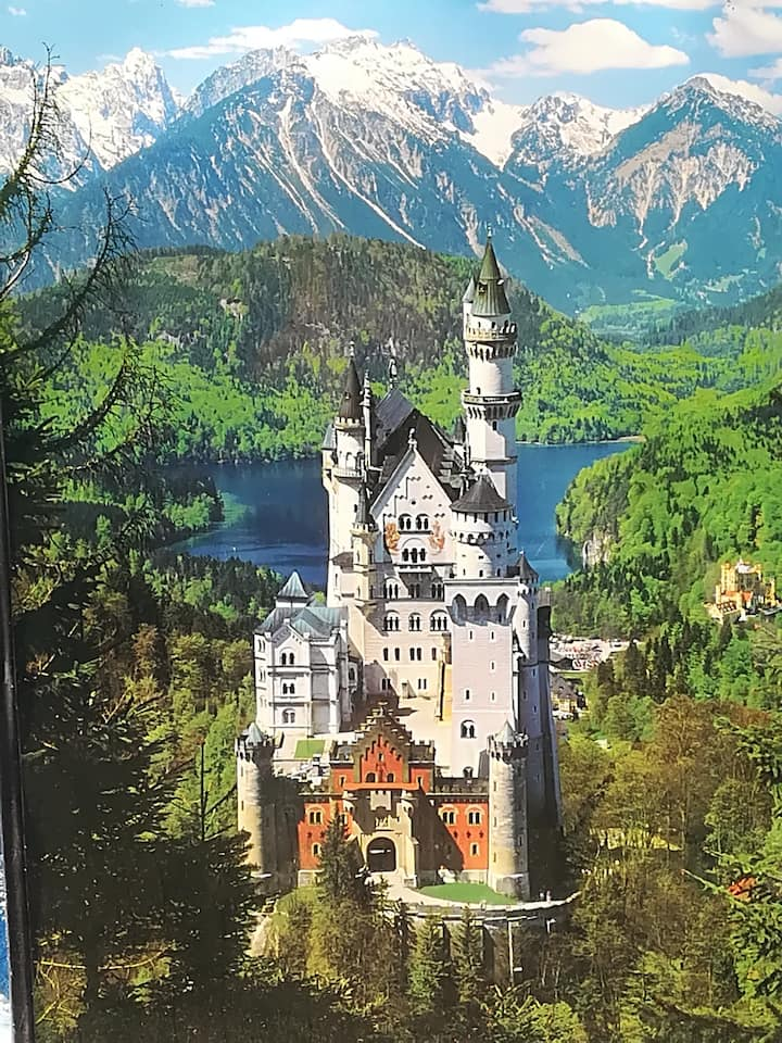 Great location to visit Neuschwanstein castle