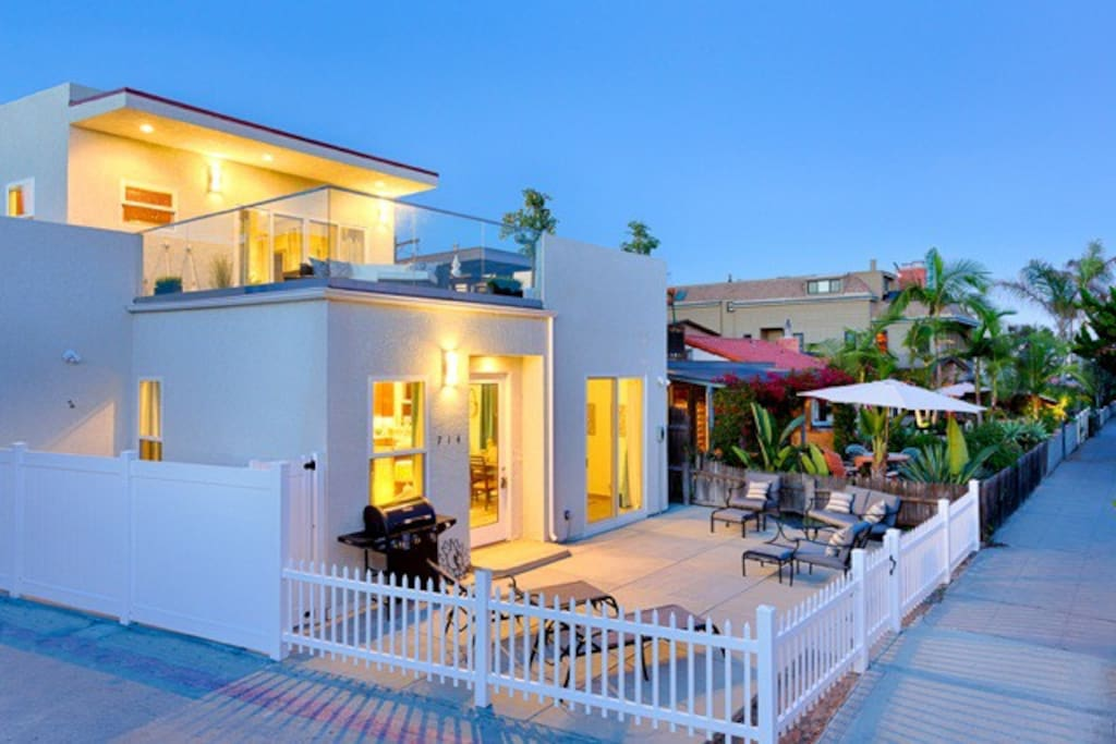Upper unit of this beautiful duplex with ocean views.