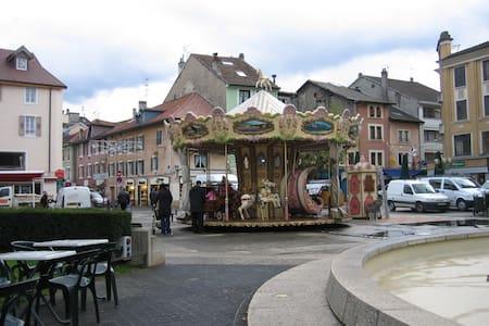 T3 de charme, hyper centre - Thonon-les-Bains