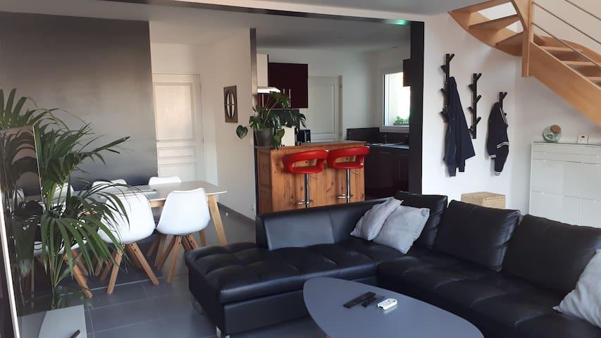 Nantes, modern and comfortable house