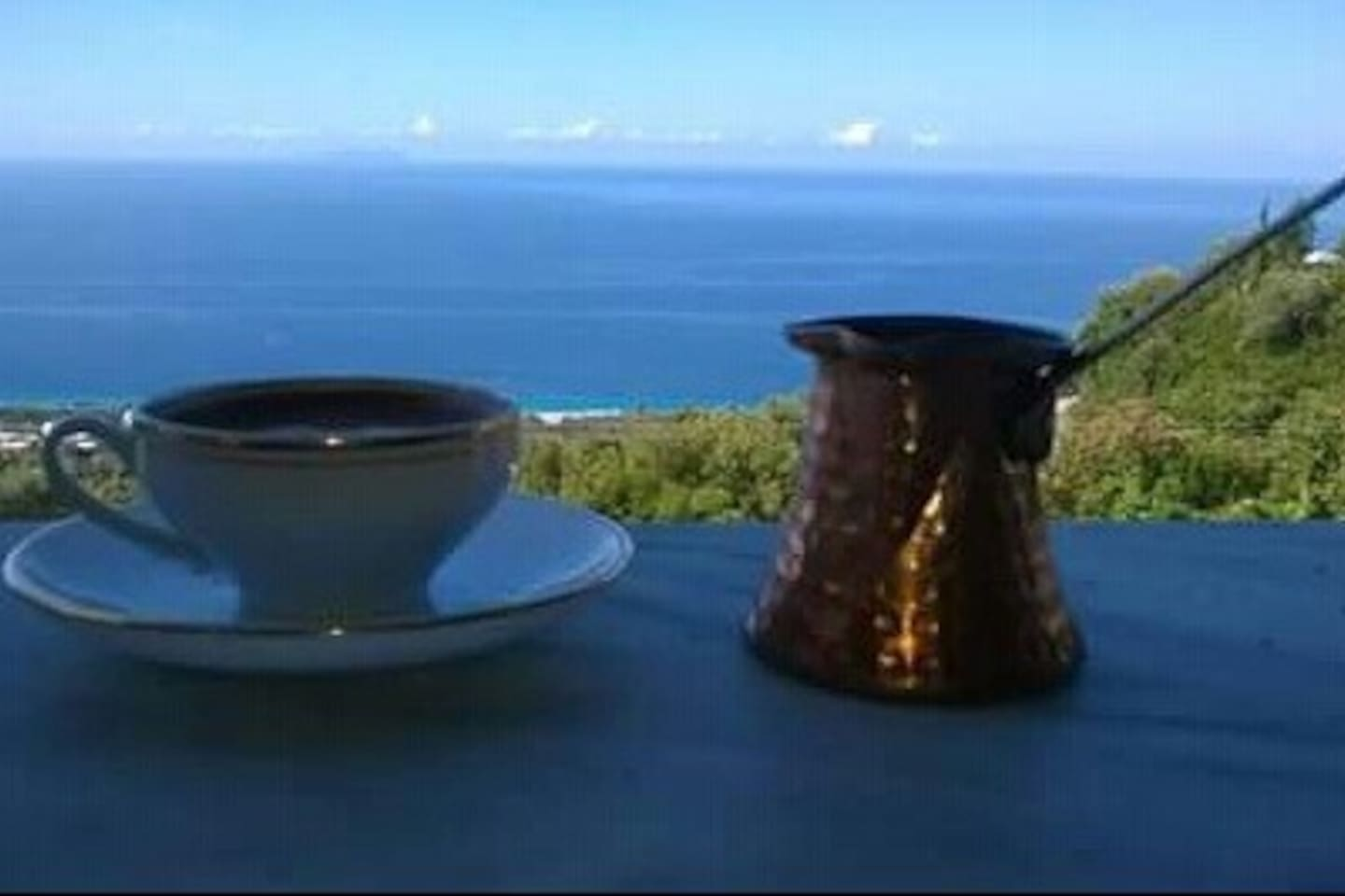 Enjoy your stay with a traditional coffee :)