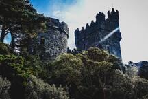 Glenveagh castle - 35 mins away