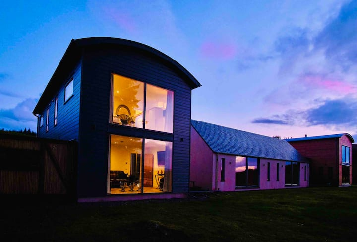 Ardtorna five-star luxury, Eco-friendly B&B