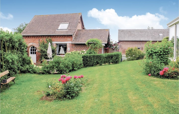 Stunning home in Luneray with WiFi and 1 Bedrooms