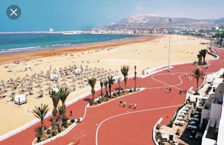2 bedroom flat in Agadir