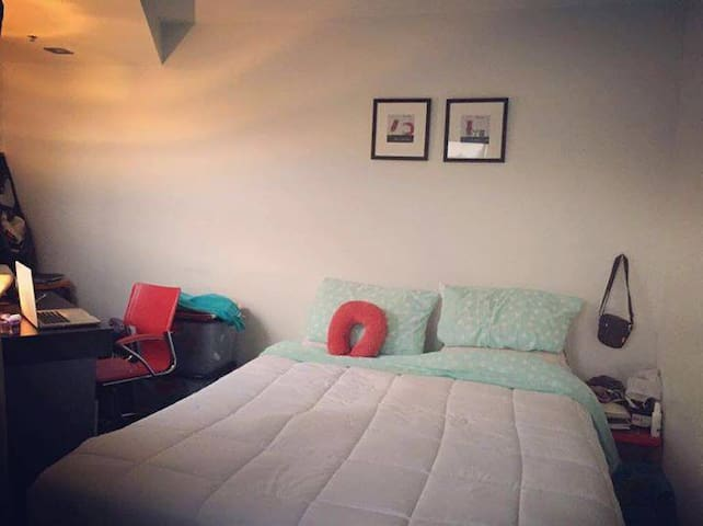 3) Sunny private Big room with wifi in city center - Auckland - Apartamento
