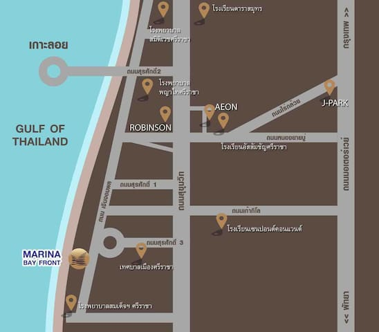 Marina bayfront Sriracha  (Closed Pattaya)