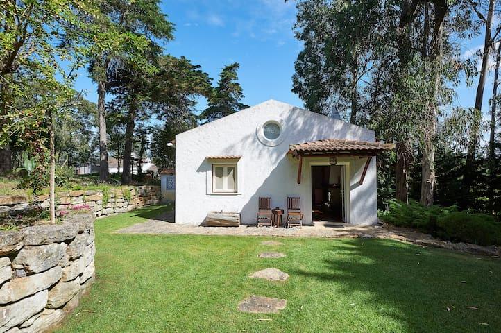 Romantic Suite with private garden - organic farm