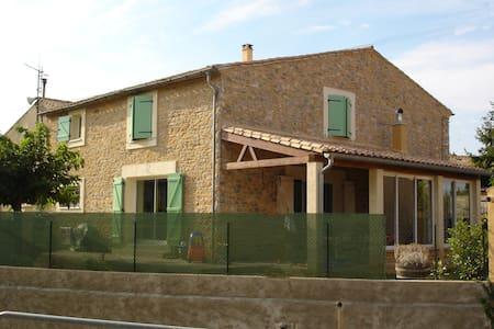 maison vigneronne proche de Carcassonne - Aigues-Vives - Casa
