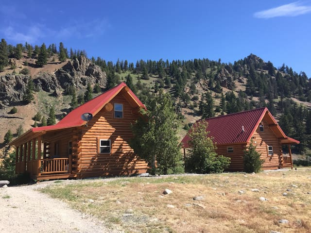 Charming rustic cabin on the Big Hole River - 1