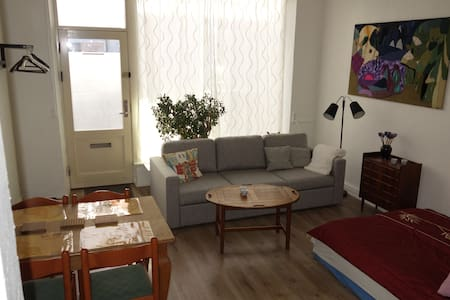 Lovely flat former gallery in the heart of Aalborg - Aalborg - Departamento