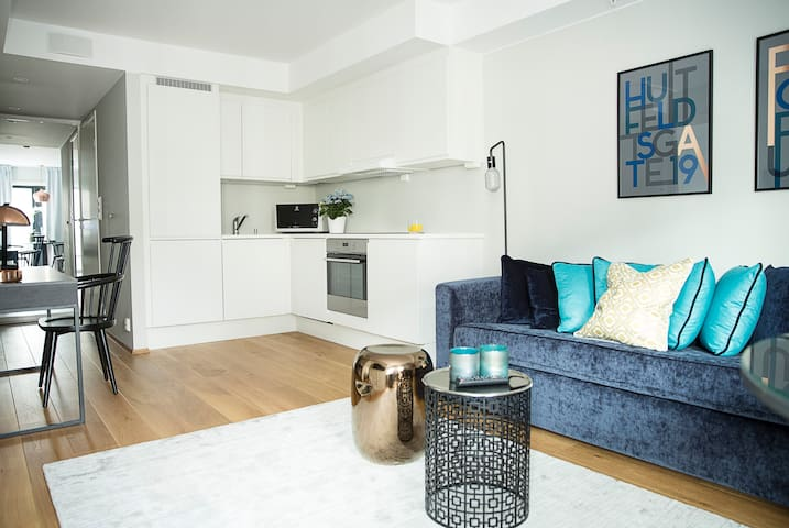 New and modern 1bdr apt. in the City Centre - Oslo - Appartement