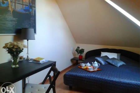 Pokoje na poddaszu w domku jednorodzinnym - Penzion (B&B)