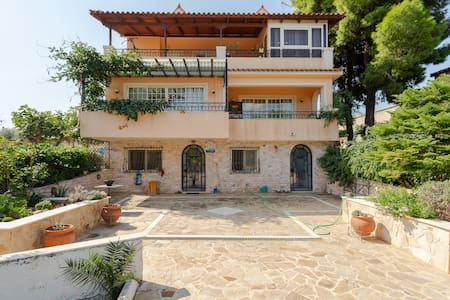 Luxury Villa 9 min from Airport 12 min from Port