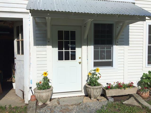 Front door to apartment