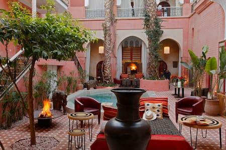 Chambre Muntaz Indian Palace - Marrakesch - Reihenhaus