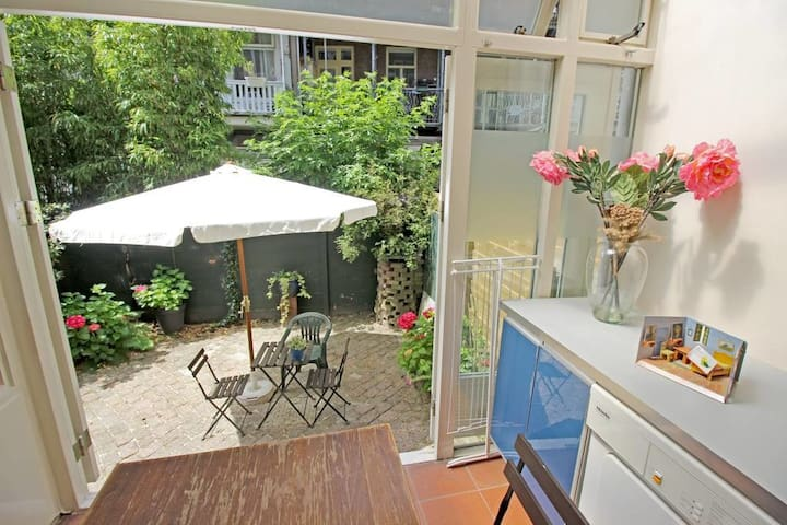 Huge 4p apartment with garden | Anne Frank House