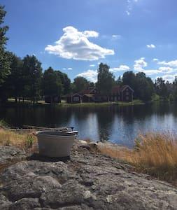 Fantastiskt boende vid sjö - Storebro