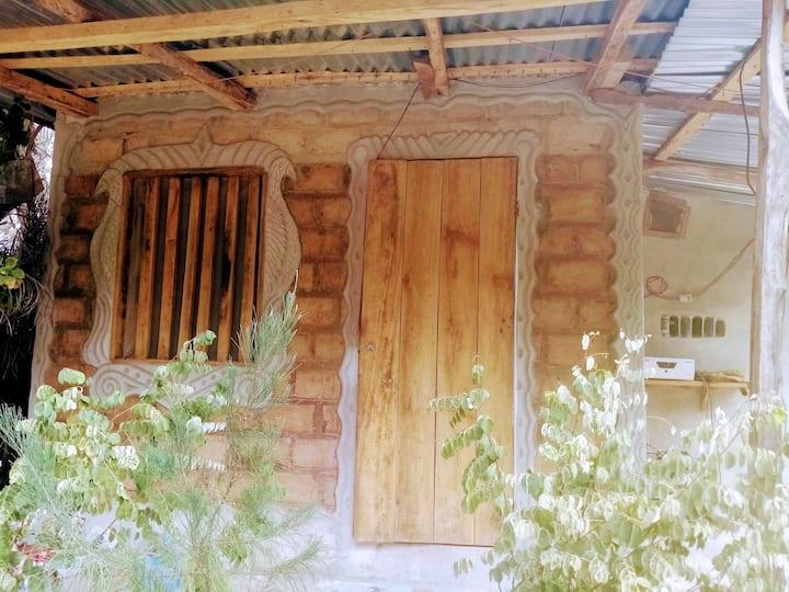 La case à Baboulaye, jungle et océan,Abéné Sénégal
