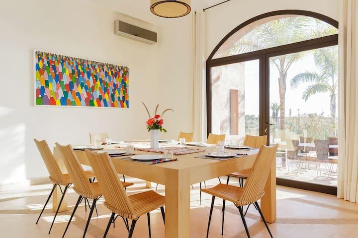Stunning modern villa close to Marrakesh - Tamesluht - Haus