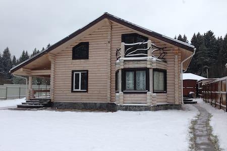 Сдаю новый дом из карельской сосны - Kubinka - Σπίτι