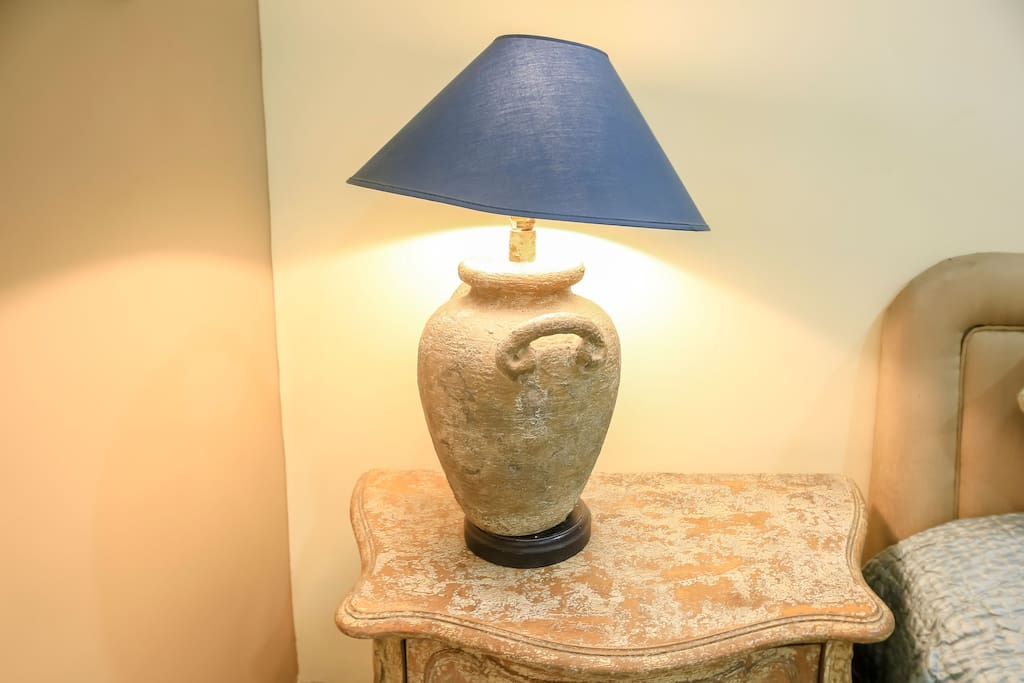 The Lamp in the room