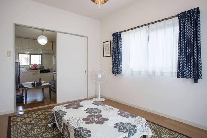 #42 OSAKA/NARA★Max 10PPL★Wide room★ - Kashiwara-shi - Flat