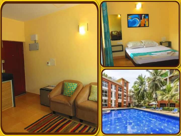 14) Modern Furnished Serviced Apartment - Arpora