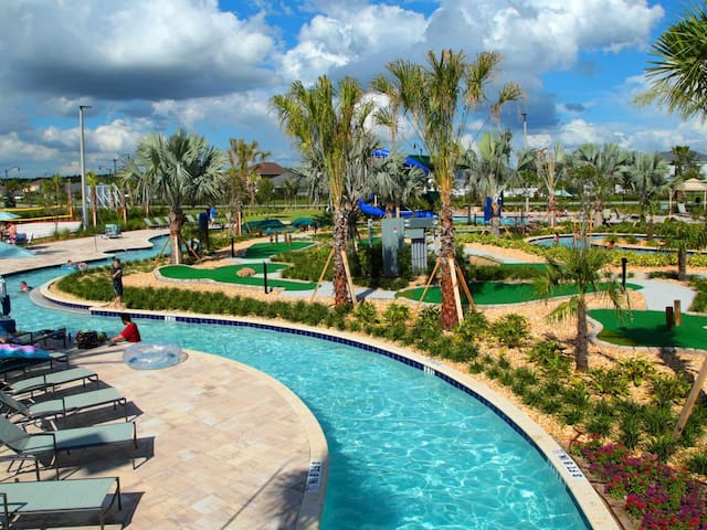 20 min from Disney 4Bed & Luxury Resort @Kissimmee