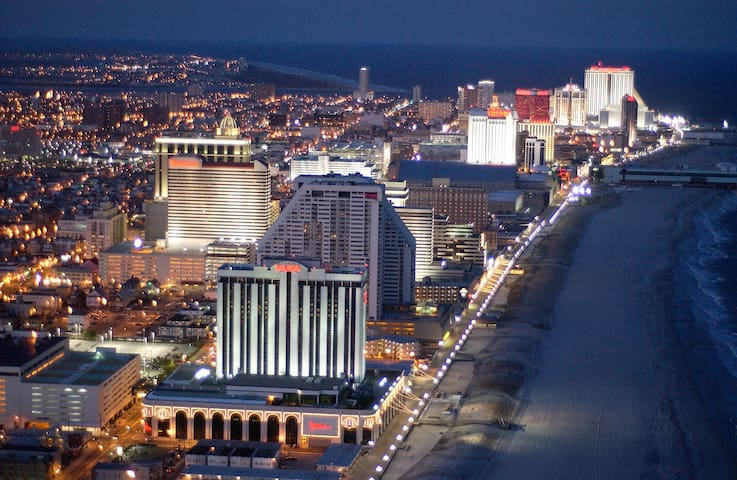 After april no more reservations.  House sold - Atlantic City