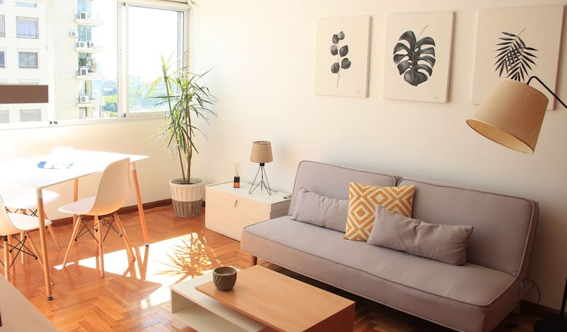 Cozy apartment | Cálido depto en Palermo
