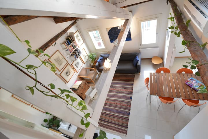 TERRACE!, TERRACE 360' STYLISH, 3bed, aircond wifi