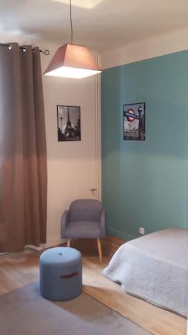 Chambre meublée au coeur du centre ville - Argentan - Apartamento