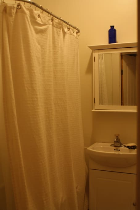 Clawfoot tub/shower