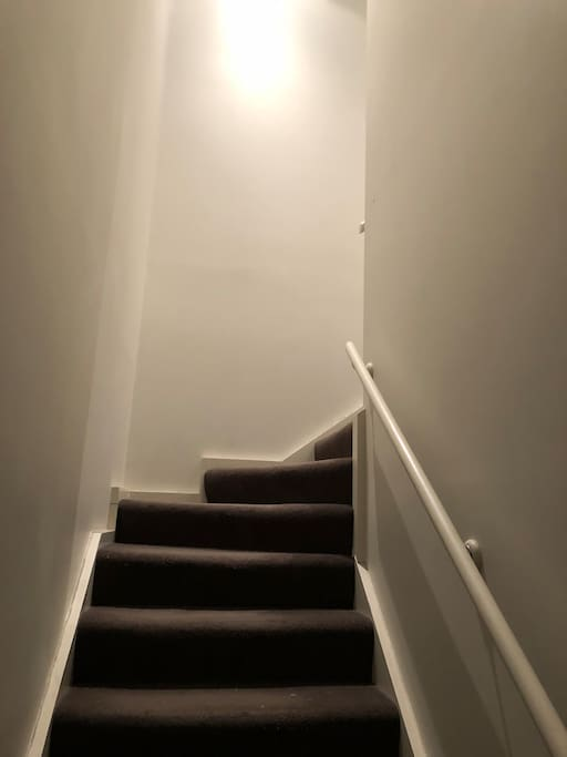 Stairs to your bedroom