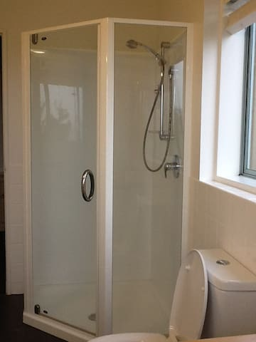 Shower in private ensuite