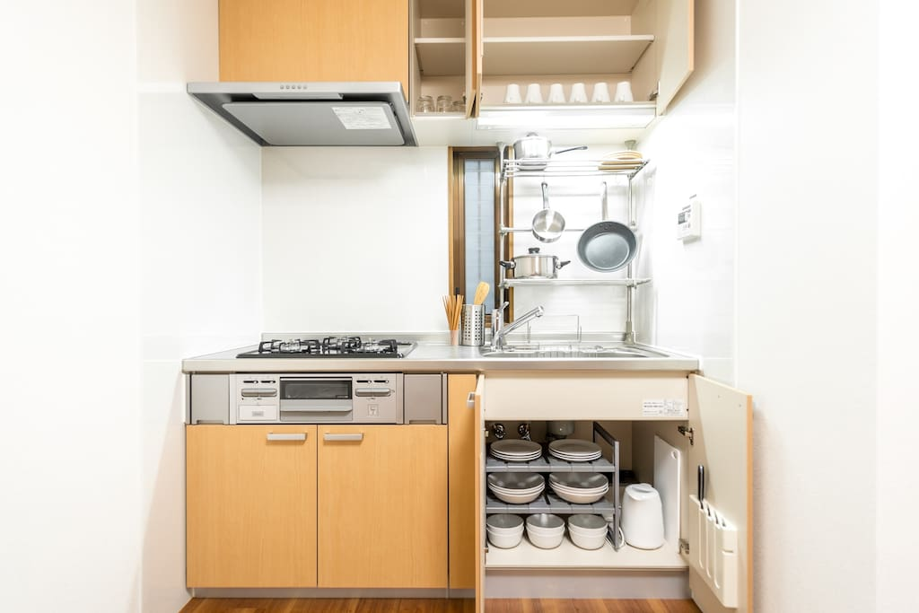 Kitchen Amenities (1/F)