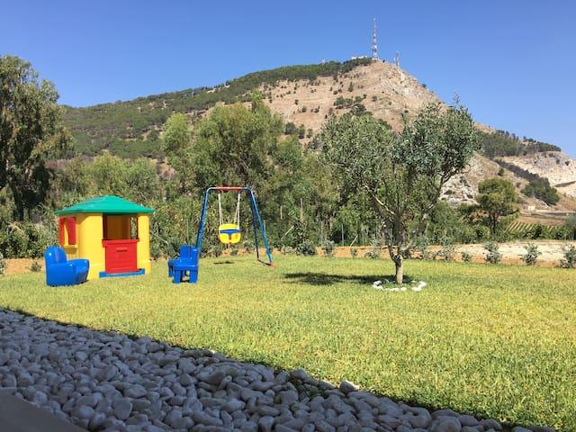 Villa panoramica  Bonifato - Alcamo - 別墅