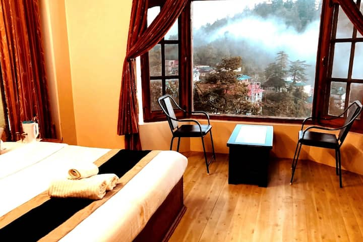 ★Shimla Star View 03-bhk in cottage★family- group★