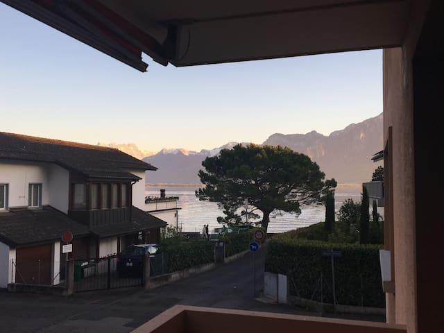Montreux lakeside nest - Clarens - Huoneisto