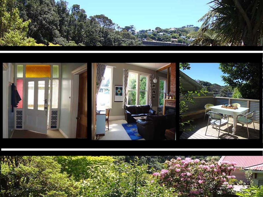Welcome. This Kelburn apartment is close to the city but a retreat from it, so make yourself at home and enjoy.