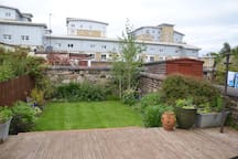 Private garden to the rear of property