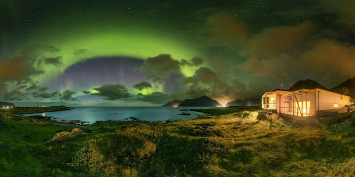 Northern lights house